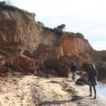 Davey's Bay cliff collapse – keep clear!