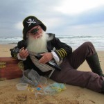 Captain Trash – not a real pirate!